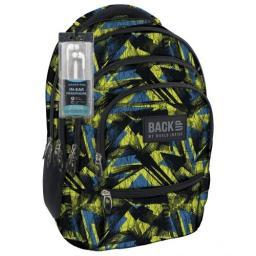 Derform Plecak Backup Model C 29 czarno-żółto-niebieski  (280633)