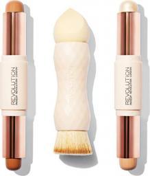 Makeup Revolution  Creme Highlight and Contour Kit zestaw do konturowania Medium