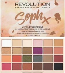 Makeup Revolution Paleta 24 cieni do powiek Soph X