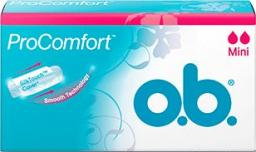 O.B ProComfort Mini komfortowe tampony 1op.- 16szt