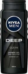 Nivea Żel pod prysznic Deep Clean 500 ml
