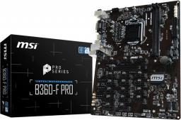 Płyta główna MSI B360-F PRO