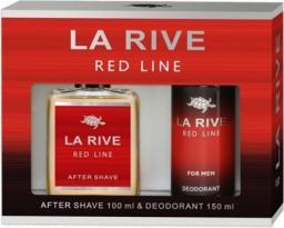 La Rive Zestaw Red Line woda po goleniu 100ml + dezodorant 150ml