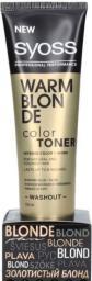 Syoss Color Toner Warm Blonde 150 ml