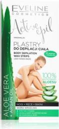 Eveline Active Epil Plastry do depilacji ciała Aloe Vera - skóra wrażliwa 12szt