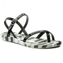 Ipanema Sandały damskie Fashion Sandal V Fem szaro-czarne r. 35/36