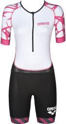 Arena Strój triathlonowy damski ST Aero biało-różowy r. XS