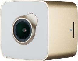 Kamera samochodowa Prestigio CUBE biało-złoty (PCDVRR530WGD)