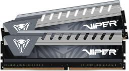 Pamięć Patriot Viper Elite, DDR4, 8 GB,2666MHz, CL16 (PVE48G266C6KGY)