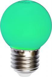 Wojnarowscy Żarówka ledowa kulista zielona 1W E27 8led (WOJ11796)