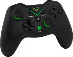 """Gamepad Esperanza PS3/PC/XBOX ONE/ANDROID USB """"Captain"""" czarny (EGG111K)"""