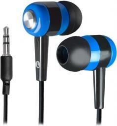 Słuchawki Defender Słuchawki Defender BASIC 616 douszne czarno-niebieskie - 63616