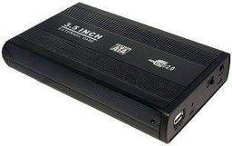 Kieszeń LogiLink 3,5'' S-ATA HDD USB 2.0 aluminiowa (UA0082)