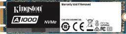 Dysk SSD Kingston A1000 960 GB M.2 2280 PCI-E x2 NVMe (SA1000M8/960G)