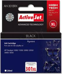 Activejet tusz AH-301BRX / CH563EE nr 301XL (black)