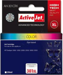 Activejet tusz AH-301CRX / CH564EE nr 301XL (color)