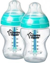 Tommee Tippee Butelka antykolkowa 0+ 2x260 ml