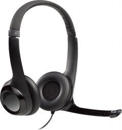 Słuchawki z mikrofonem Logitech H390 (981-000406)