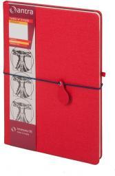 Antra Notes B5 Kropki Renesans Czerwony