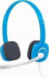 Słuchawki z mikrofonem Logitech H150 Blueberry (981-000368)