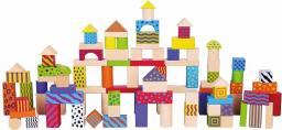 Viga Klocki 100 Elementów - Colorful Set (0885, Viga)