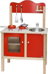 Viga Kuchnia Z Akcesoriami Czerwona (0823, Viga)