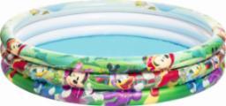Bestway Basen dmuchany Myszka Miki i Przyjaciele niebiesko-zielony 122x25 cm (91007)