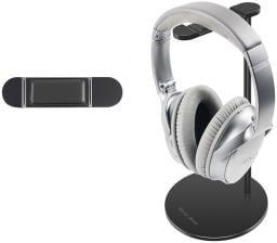 New Bee Premium Stand stojak na słuchawki aluminium, czarny