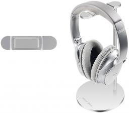 New Bee Stojak na słuchawki Premium NB-PREMIUM-WH srebrny
