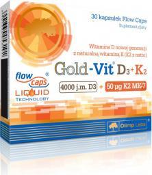 OLIMP Gold-Vit® D3+K2 30 kapsułek