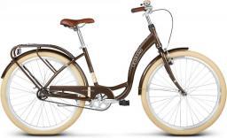 """Le Grand Rower miejski Lille 17"""" 1-biegowy brązowy"""