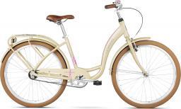 "Le Grand Rower miejski Lille 1 kremowy 19"""