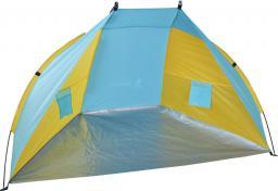 ROYOCAMP Namiot plażowy Sun 200x120x120cm niebiesko-żółty
