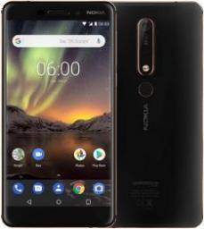 Smartfon Nokia 6.1 32GB Czarny