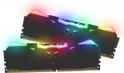 Pamięć Patriot VIPER RGB DDR4, DDR4, 16 GB,3600MHz, CL16 (PVR416G413C9K)