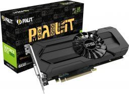 Karta graficzna Palit GTX 1060 StormX 6GB GDDR5 (192 bit) HDMI, DVI, 3xDP (NE51060015J91061F)