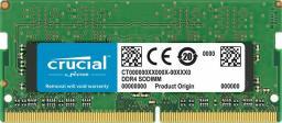 Pamięć do laptopa Crucial SODIMM DDR4,  4GB,  2400MHz,  CL17 (CT4G4SFS824A)  -> 2133MHz