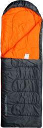 Meteor Śpiwór Dreamer Pro L-Zip szaro-pomarańczowy 220x75cm