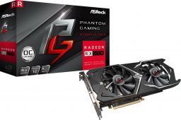 Karta graficzna ASRock Phantom Gaming X Radeon RX570 4G OC GDDR5 (256 bit) HDMI, DVI, 3xDP