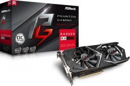Karta graficzna ASRock Phantom Gaming X Radeon RX570 8G OC GDDR5 (256 bit) HDMI, DVI, 3xDP