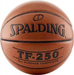 Spalding Piłka do koszykówki TF-250 IN/OUT pomarańczowy r.7 (74531Z)