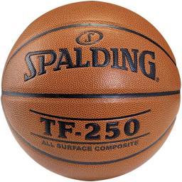 Spalding Piłka do koszykówki TF 250 IN/OUT pomarańczowa r. 6