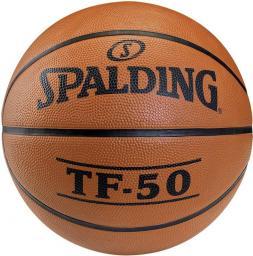 Spalding Piłka do koszykówki TF 50 Outdoor pomarańczowa r. 6