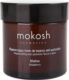 Mokosh Regenerujący krem do twarzy antipollution Malina 60 ml