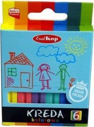 Kred-kop Kreda szkolna 6 kolorów