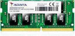 Pamięć do laptopa ADATA Premier DDR4 SODIMM 8GB 2400MHz CL17 (AD4S240038G17-B)