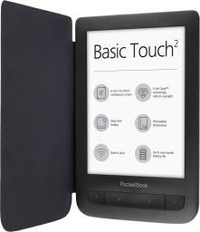 Czytnik PocketBook Basic Touch 2 z etui czarny (PB 625)