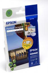 Epson Premium Semigloss A6 (C13S041765) 50 ark