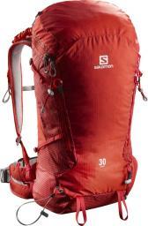 Salomon Plecak trekkingowy X Alp 30 Fiery Red/Barbados Cherry (401191)
