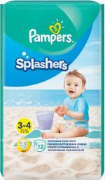 Pampers Pieluchy do pływania Splashers 3 Midi 12 szt.